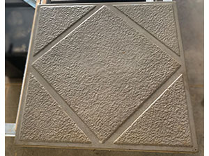 Large Diamond- Concrete